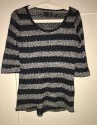 Sweterek w pasy New Look 38