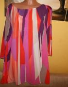 Tunika Sukienka kolorowa Monsoon Rozmiar 48 50 52
