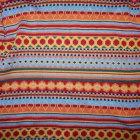 Sweter kolorowy skandynawskie wzory 146 152