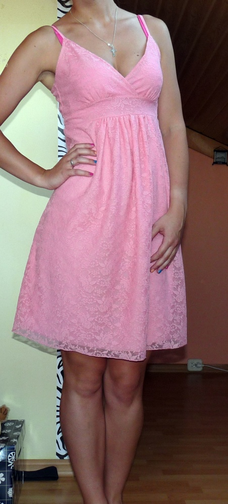 Koronkowa sukienka tanio...