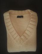 Vero Moda beżowy sweter...