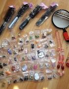 Zestaw kolczyków biżuterii oraz akcesorii