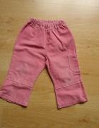 Spodnie sztruksowe z kieszonką...