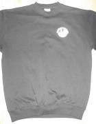 Czarna bluza bez kaptura M