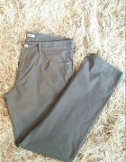 nowe szare męskie spodnie