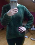 gruby sweter ciepły mega miękki...