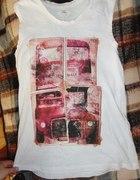 koszulka top bezrękawnik New Look retro...