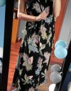 Sukienka maxi we wzory rozmiar uniwersalny