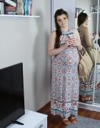 Sukienka ciążowa i do karmienia maxi dress...