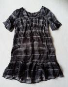 limited edition sukienka baby doll w kratkę 42 XL...
