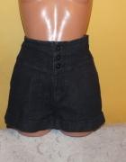 Spodenki jeansowe z wysokim stanem Oasis 36 38