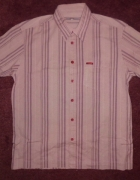 S OLIVIER koszula męska w kratkę roz XL