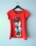 Czerwona bluzka z Myszką Minnie