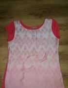 modna bluzka pomarańcz lato orsay 36