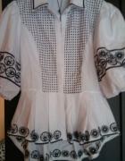 Biała elegancka koszula l