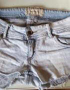 Spodenki Reserved XS 34 szorty krótkie jeansowe...