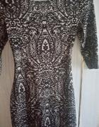 sukienka New Look dopasowana 36 S