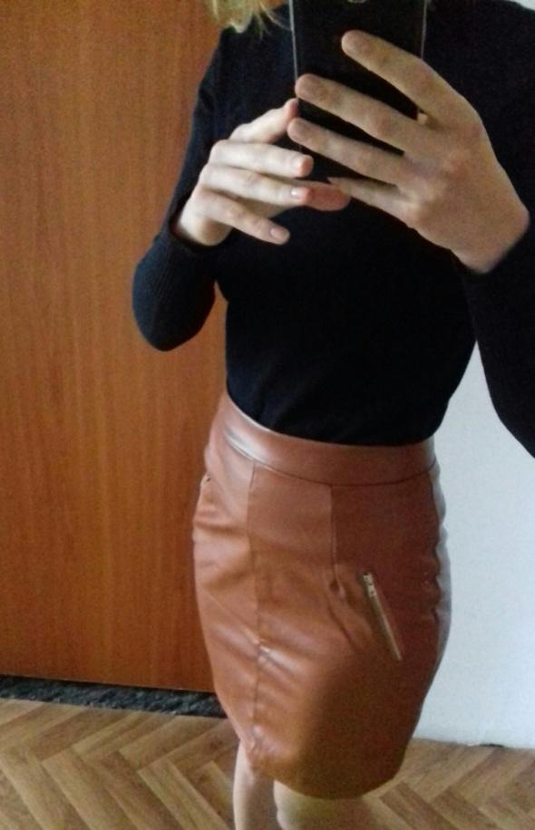 Spódnice Spódnica ołówkowa ala skóra