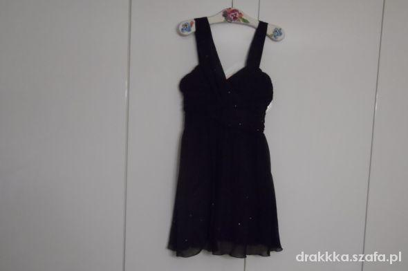sukienka Lipsy fioletowa studniówka wesele...