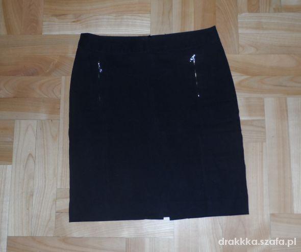 Czarna elegancka spódniczka 36 reserved