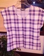 Bluzeczka w kratę