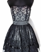 Morgan sukienka koronka rozkloszowana 36...