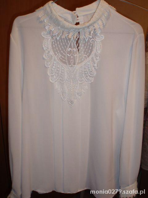 Biała śliczna bluzka jak nowa