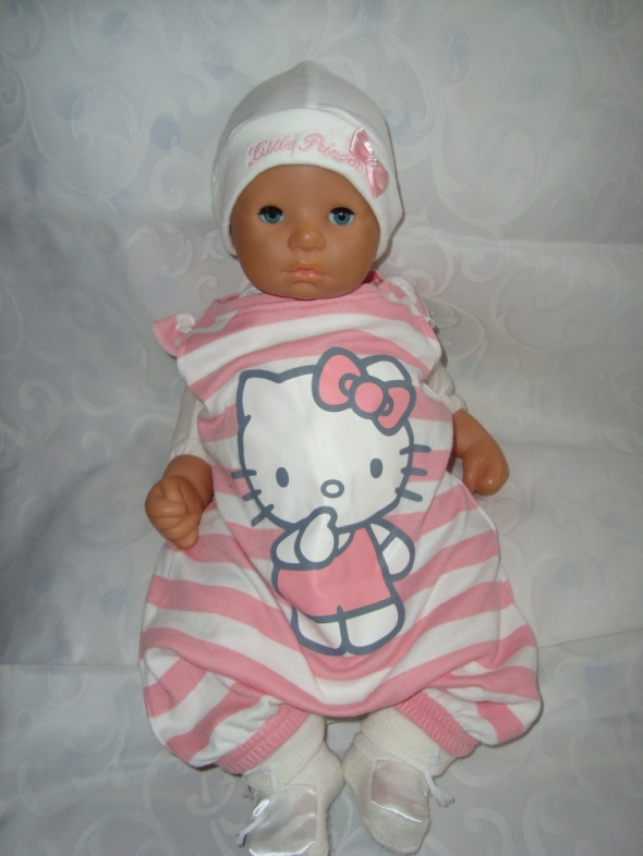 Hello Kitty rampers kr rękaw roz 0 3 msc