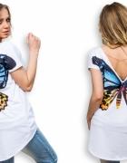 bluzka z motylem nowa