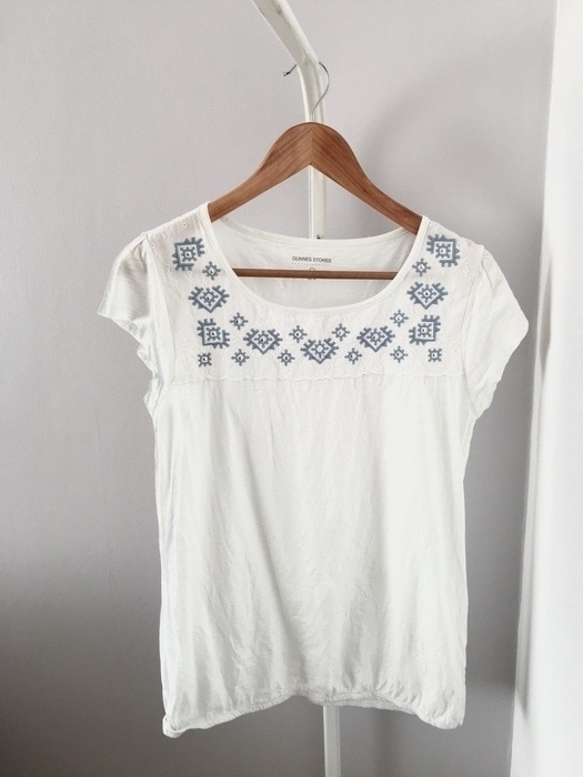 Biała bluzka Dunnes Stores