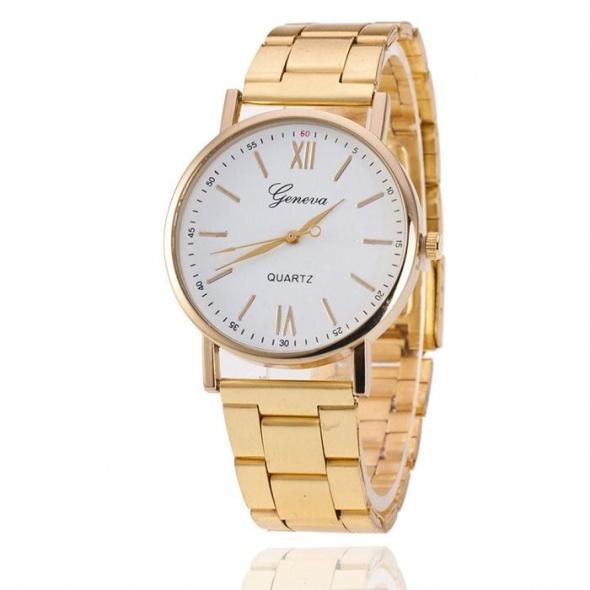 Pozłacany zegarek idealny na prezent