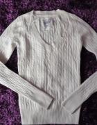 sweterek h&m 34 wełwnka angora...