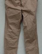 LEFTIES by ZARA beżowe spodnie chino 50 NOWE