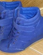 botki niebieskie rozmiar 39