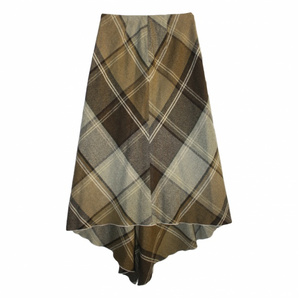 Spódnice Długa spódnica w kratę