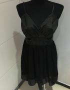Czarna Sukienka 40 Bonprix