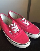 Różowe trampki Vans 38...