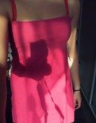 Sukienka lekki róż