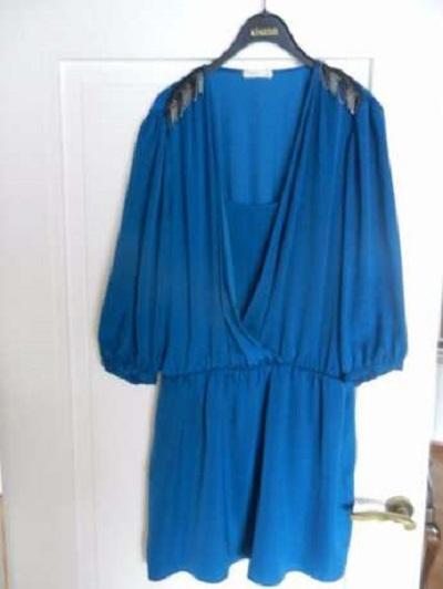 Promod niebieska sukienka...