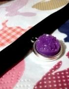 Dusik choker kryształ kamień minerał pastel goth lolita