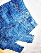 Tregginsy marmurki elastyczne spodnie pull&bear XS S...