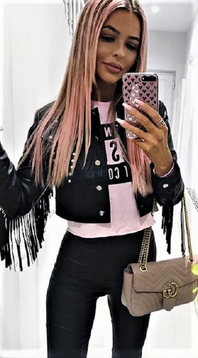 Codzienne lady pink