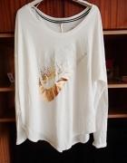 Koszula bluzka nike asymetryczna...