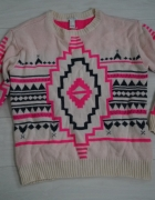 Forever21 aztec S sweter