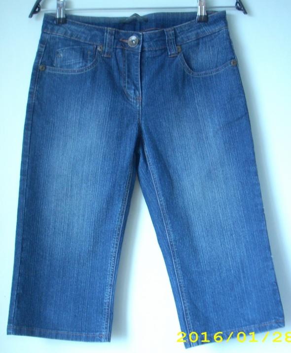 Spodnie Spodnie dżinsowe za kolano S 8