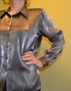 bluzka srebrna