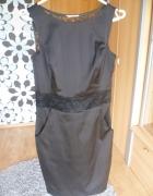 Czarna koronkowa sukienka Orsay 34 XS