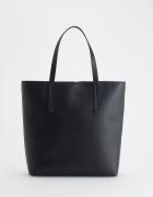Reserved torebka czarna a4