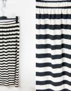 Długa spódnica w paski Reserved