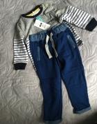 Bluza chłopięca ze spodniami